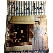 1944 The American Home June 1944 Gardening Farms & Remodeling - Vintage Magazine