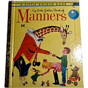My Little Golden Book of Manners  Peggy Parish Richard Scarry 1962