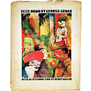 George Grosz: Ecce Homo (Drawings & Watercolors Plates). Preface by Henry Miller. 1966 Second Printing