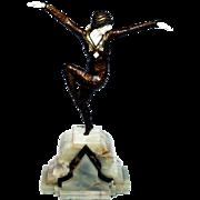 Demetre Chiparus: Dancer of Kapurthala. c.1925. Bronze, Bone, Onyx.