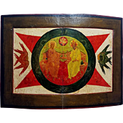 Russian Icon of the New Testament Trinity