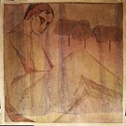 Konstantin Konstantinovich Chebotarev (Russian, 1892-1974): Untitled (Male). 1919, Watercolor