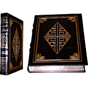 Carl Bernstein: Loyalties. 1989, Author Signed, Easton Press, Leather Bound