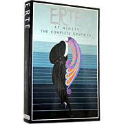 Erte at Ninety The Complete Graphics. Artist Hand Signed, 1982, First Edition. E. P. Dutton, NY, Printed in Italy