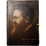 Theodore Herzl. A Memorial. 1929. Only Edition Book