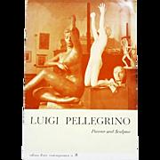 Luigi Pellegrino (Italian, 1905-1970). Artist's Signed Catalog, 1966