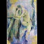 Helen Lefkowitz Schwimmer : Nude. 1962, Oil on Canvas.