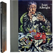 Ivan Albright. 1997, First Edition, Chicago. Hardcover.