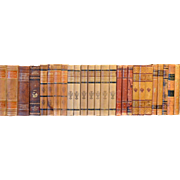Early 20th Century Leather Bound Library Books Series 38
