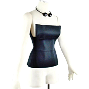 Vintage Yves Saint Laurent By  Tom Ford Bandage Corset Top Size Small