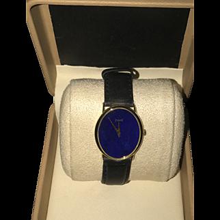 18k Gold Piaget Lapis Watch