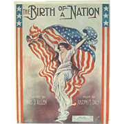 The Birth of a Nation Sheet Music