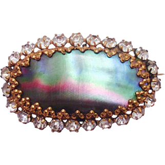 Early 20th Century Mother-of-Pearl Pin