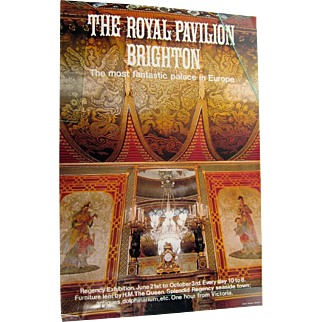 The Royal  Pavilion Brighton Poster