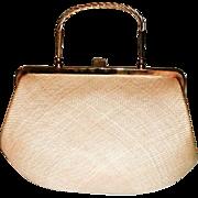 Unused Magid Italian Milan Straw Handbag