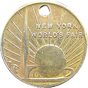 N.Y. World's Fair Commemorative Souvenir