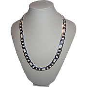 Sterling Silver Chain Necklace .925