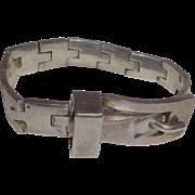 Sterling Silver Taxco Mexico TC-264 Bracelet