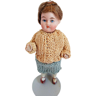 Kestner All Bisque 5 Piece Doll Mold 161 All Original