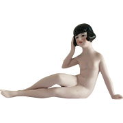 Hertwig Flapper Nude Bathing Beauty Marked Germany 1621