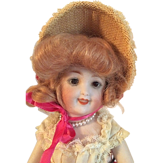 Kestner Rare All Bisque Doll , Marked 140 - 12  Germany  On Head & Body