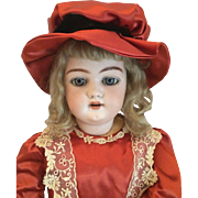 "Old Simon & Halbig Bisque Open Mouth Ball Jointed Composition 1079 23"" Doll"