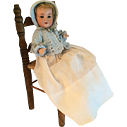 """Armand Marseille 9"""" Bisque Head With Composition Body 560a Character Baby"""