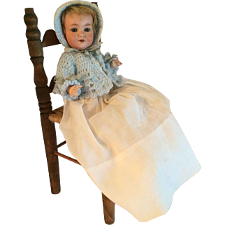 """Armand Marseille 9"""" Bisque Head With Composition Body 560a Character Toddler"""