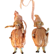 Twin Kestner All Bisque Jointed Shoulders and Hips Mold 150 Fashioned Jesters Original