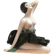 Rare Galluba & Hoffmann Bisque Bathing Beauty 437 With Clothes