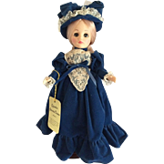 "Effanbee's Grandes Dames Collection 11"" Elizabeth Doll 1975"