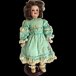 "Heubach Kopplesdorf 342  10/0  German Bisque 14"" Doll"