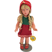 Kathe Kruse 40 cm Celluloid German Girl Original