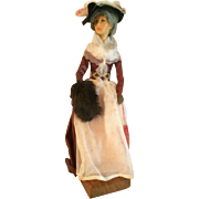 Ann Parker English Costume Handmade Doll With Label