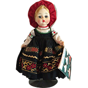 "Madame Alexander ""Finland"" International Series Doll 19cm Original"