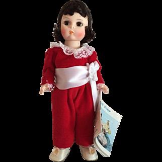 "Vintage Madame Alexander Storyland ""Red Boy"" Doll"