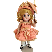 Alt, Beck & Gottschalk All Bisque Doll Mold 100