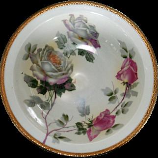 O&EG Royal Austria Circa 1889-1918 Decorative Serving Bowl