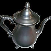 Preisner Pewter USA Tea Pot 2061