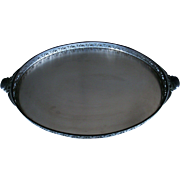 Royal Holland Large Handled Pewter Tray