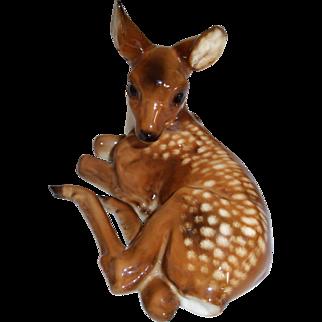 Lorenz Hutschenreuther Kunstabteilung Selb Germany Deer Figurine