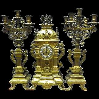Renaissance Revival Mantel Clock
