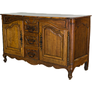 Walnut Louis XV Style Enfilade