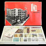 IMO Junior Car Park Building Kit to go with Dinky Toys, Salon International des Inventeurs 1967