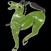 Vintage 1930-40s Lucite Donkey Brooch