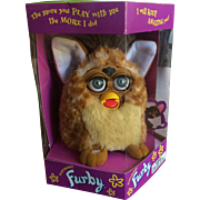"Vintage 1998 FURBY ""Giraffe"" (PERFECT! Mint Condition in Never Opened Sealed Box)"