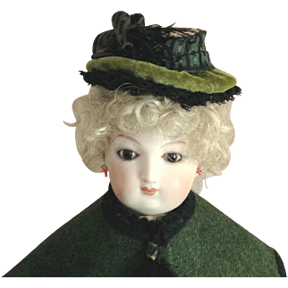 """French Fashion Hat ~ Artist Made ~ 7-1/2"""" to 8-1/2"""" Head"""