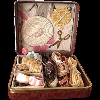 French Fashion ~ Millinery Presentation Box ~ Artist Made by Zofia Rose
