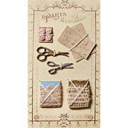Special Order ~ Holding for S ~ Artist Made ~ Sewing Presentation Display Card