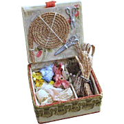 French Fashion Accessory ~ Millinery Presentation Box ~ Artist Made ~ for Small Dolls